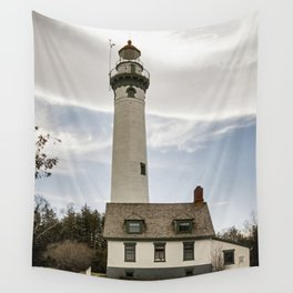 New Presque Isle Lighthouse Wall Tapestry
