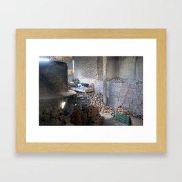 Artisan's Space (Caruaru, Brazil)   Framed Art Print