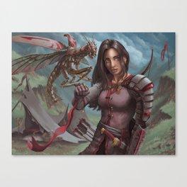 Mantis Warden Canvas Print