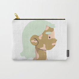girl on the side Carry-All Pouch