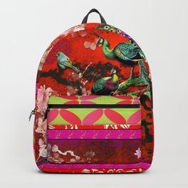 An afternoon in the oriental gardem Backpack