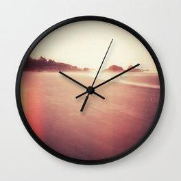 Technicolor Beach Dreams 2 Wall Clock