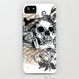 The life of the dead is retained in the memory of the living iPhone Case