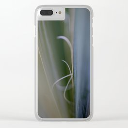 California Cactus Up Close Clear iPhone Case