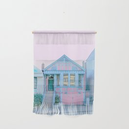 San Francisco Painted Lady Victorian House Wall Hanging
