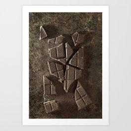Choco break Art Print