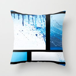 Freedie My Freeloader (IN BLK) Throw Pillow