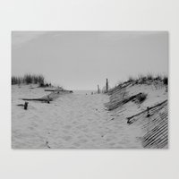 dune Canvas Prints featuring Dune by TQ  Photography