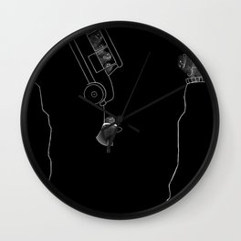 Fingerprint III Wall Clock