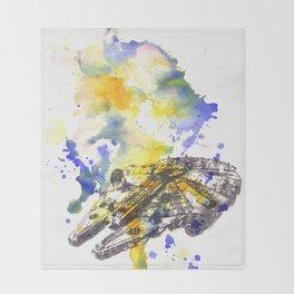 Star Wars Millenium Falcon  Throw Blanket