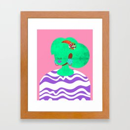 Earrings No. 3 Framed Art Print