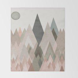 pastel plateau deux Throw Blanket