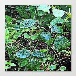 Living Leaves Canvas Print