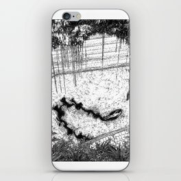 asc  833 - La reine de la jungle (Swimming hazards) iPhone Skin