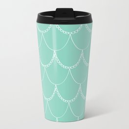 Mint Scallop Travel Mug