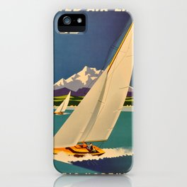 Vintage poster - Pacific Northwest iPhone Case