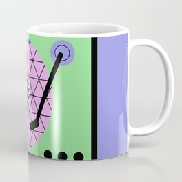 Play That Retro Geometric Vinyl Coffee Mug