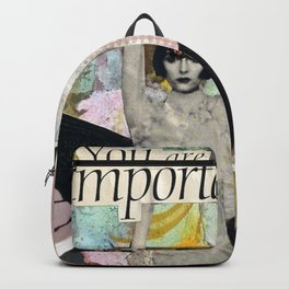 You Are Important Backpack