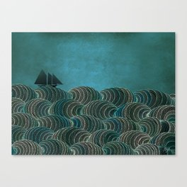 The Open Sea Canvas Print