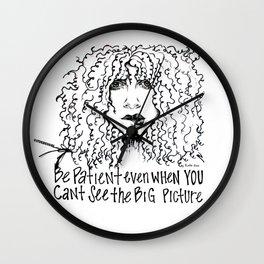#STUKGIRL Stevie Wall Clock