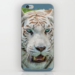 THE BEAUTY OF WHITE TIGERS iPhone Skin