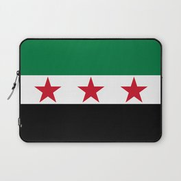 Syrian Independence Flag  High quality Laptop Sleeve