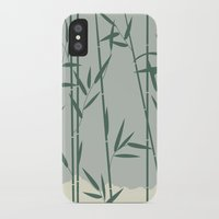 bamboo iPhone & iPod Cases featuring Bamboo by Rceeh