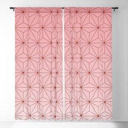 nezuko pattern 2 Blackout Curtain