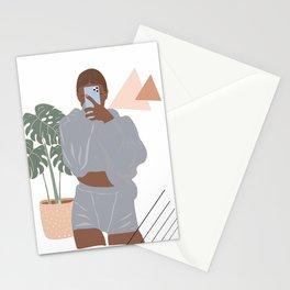 Selfy Teen Art Stationery Cards