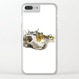 The cattle Clear iPhone Case