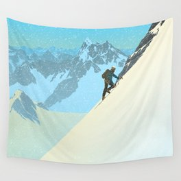 Mountaineer Wall Tapestry