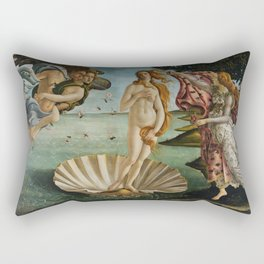 The Birth of Venus Rectangular Pillow