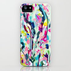 Rise - Abstract Flowers iPhone (5, 5s) Slim Case