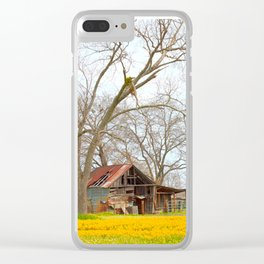 Field Of Gold Clear iPhone Case