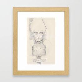 He Has it Too Framed Art Print