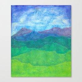 Blue Ridge Twilight Canvas Print