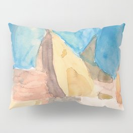 String Instruments and Books Pillow Sham