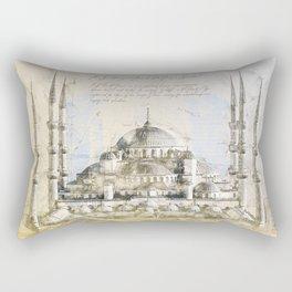Blue Mosque, Istanbul Turkey Rectangular Pillow