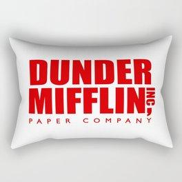 Dunder Mifflin Logo Rectangular Pillow