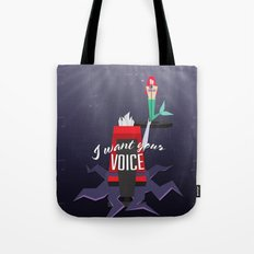 I want your VOICE Tote Bag