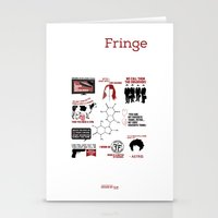 fringe Stationery Cards featuring Fringe Quotes by CLM Design