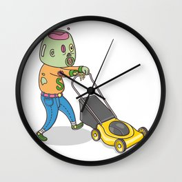 My Personal Zombie Wall Clock
