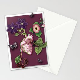 RIPENED HEART Stationery Cards