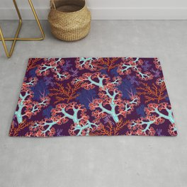 coral dream Rug
