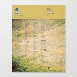The Visual Mixtape 2010 | Fantasies | 16 / 25 Canvas Print