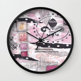 polka dot? well, if you insist... Wall Clock