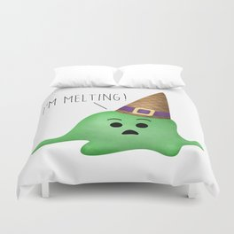 I'm Melting! Duvet Cover