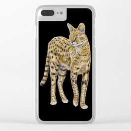 Serval Clear iPhone Case