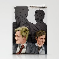 true detective Stationery Cards featuring True Detective by The Art Warriors