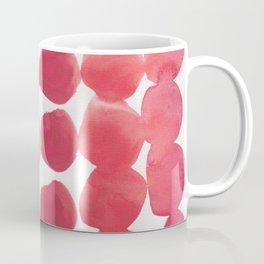 7  | 190408 Red Abstract Watercolour Coffee Mug